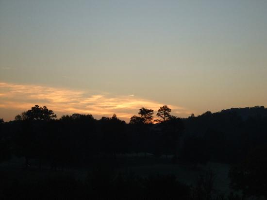 RiverStone Resort & Spa: Our view at RiverStone (Sunrise)