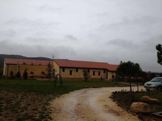 Hotel Rural Bioclimatico Sabinares del Arlanza : fachada principal
