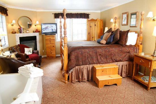 Candlelight Inn Napa Valley : Startlight Room - Deluxe Queen