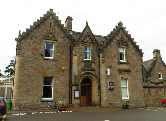 Best Western Plus Inverness Lochardil House Hotel: Front of the Hotel