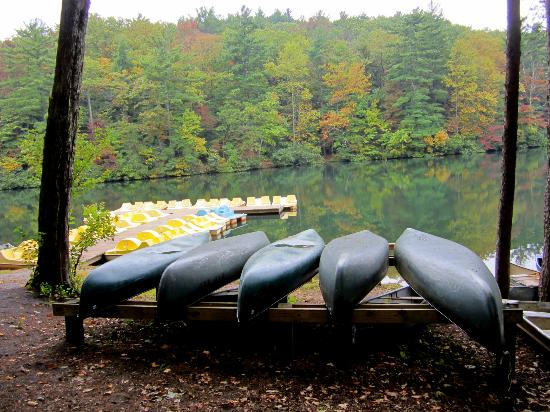 ‪‪Fort Mountain State Park‬: canoe rental‬
