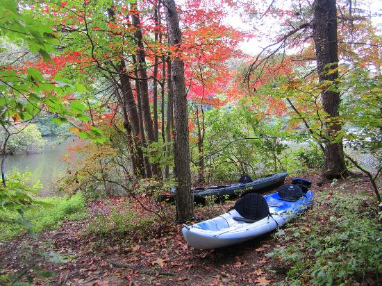 Fort Mountain State Park: kayaking