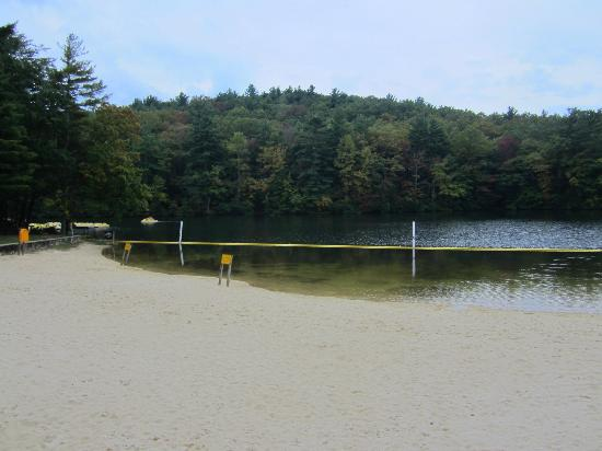 Fort Mountain State Park: beach
