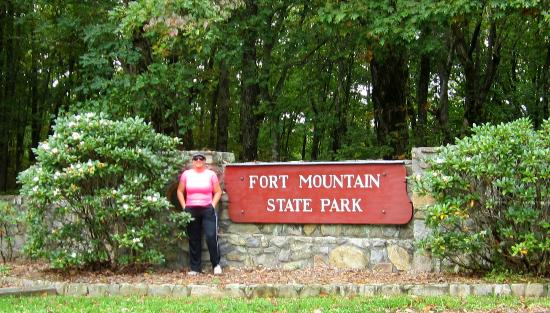Fort Mountain State Park: Entrance