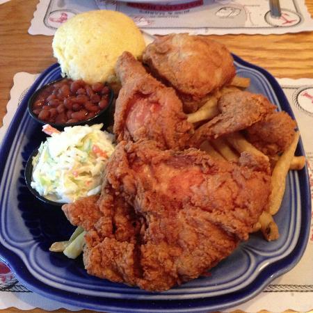 Marconi Beach Restaurant: Heavenly Fried Chicken