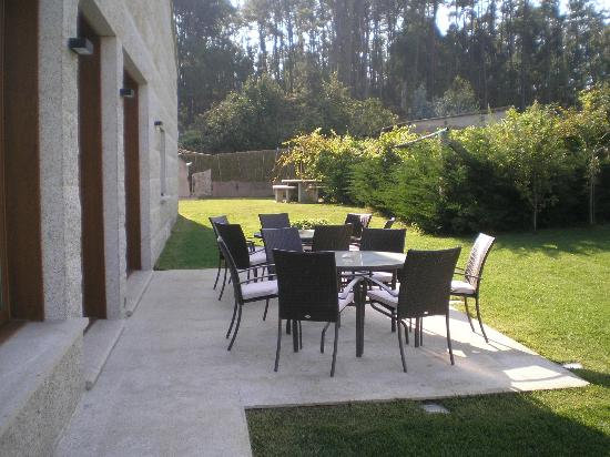 Casa Rural Terra Santa: zona de relax.