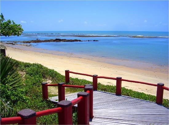 Privillage Praia Pousada de Charme: maré baixa na frente da pousada