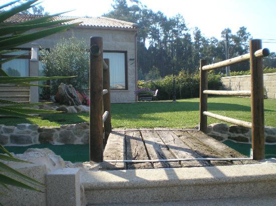 Casa Rural Terra Santa: entrada a la casa.