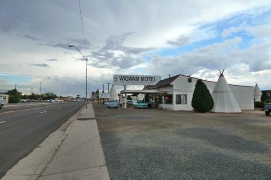 Wigwam Motel: lieu