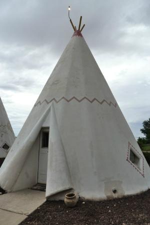 Wigwam Motel: chambre