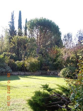 Villa Malavolta: Garden area