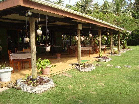Lawaki Beach House: Our Verandah got a new face: come and enjoy!
