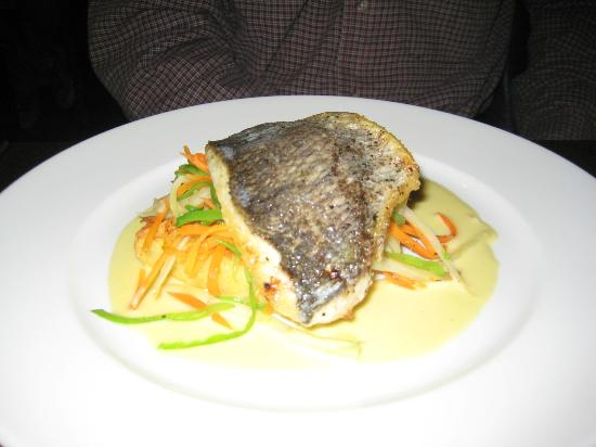 The Cornstore: PAN SEARED SEA BREAM FILLET