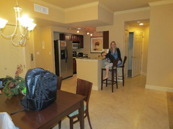 Lake Eve Resort: cozinha