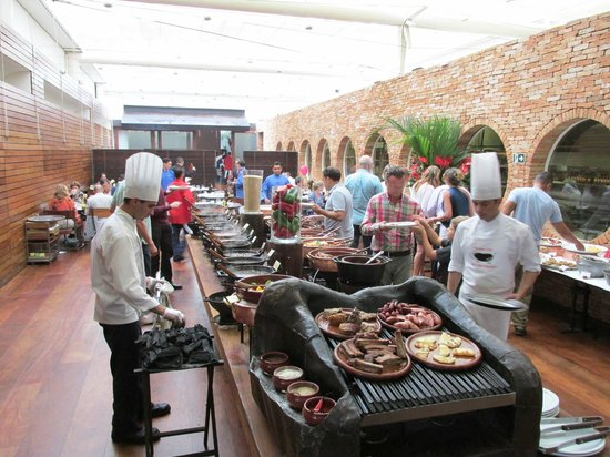 Figueira Rubaiyat: The meat and essentials line - they do love their meat here