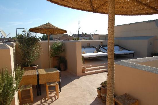 Riad Snan13: Vistas de la terraza