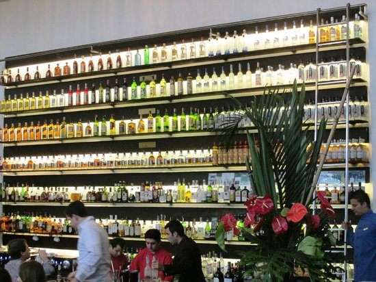 Figueira Rubaiyat: And an incredibly well equiped bar!