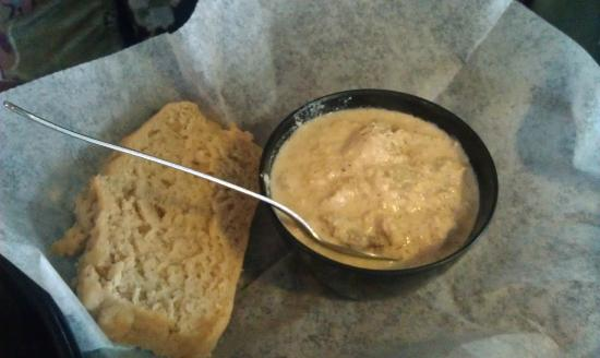 Mudhook Brewing Company: A very good cream of crab soup