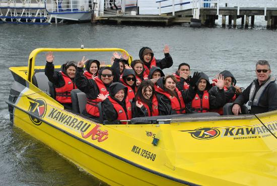 Kawarau Jet Rotorua & Kjet Parasailing: After our adventure on Lake Rotorua!