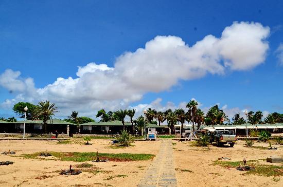 Hotel Oasis Belorizonte: Hotel visto da praia