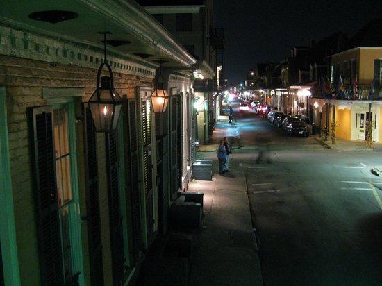 Biscuit Palace Guest House:                   Bourbon Mini Suite balcony