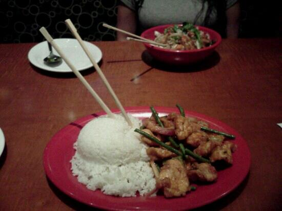 Pei Wei Asian Diner: A whole lot of food