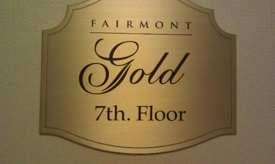 The Fairmont Palliser: Impeccable Service