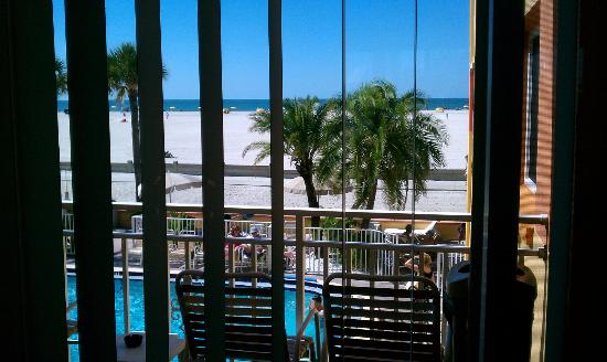 Page Terrace Beachfront Hotel: From the room