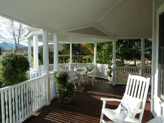 The Victorian on Sunset Hill: The best porch