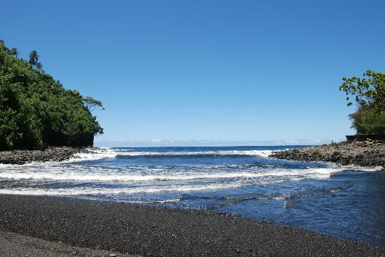 Hakalau Beach: Beautiful Ocean View