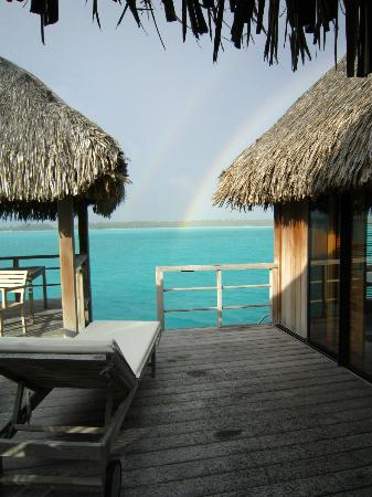 The St. Regis Bora Bora Resort: terrace