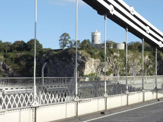 Clifton Suspension Bridge: A Bright Clear October Day