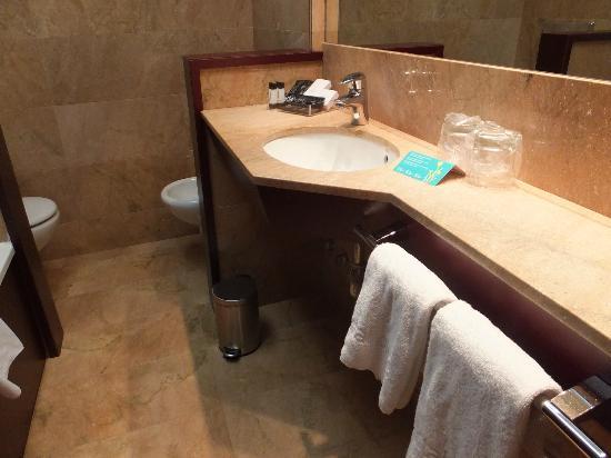 โรงแรมแอตาเอเทรียมพาเลส: バスルーム