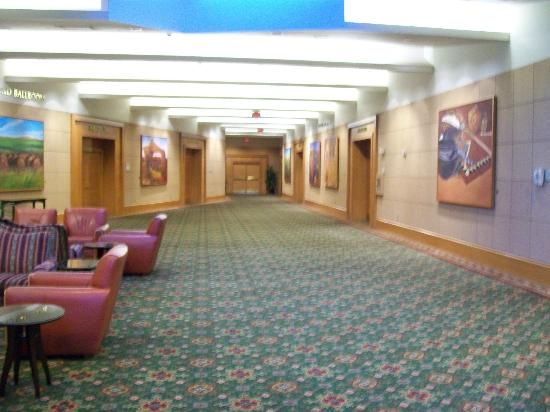 Phoenix Airport Marriott : Corridor Near Conference Rooms