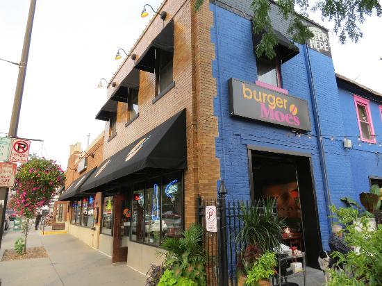 Burger Moe's.
