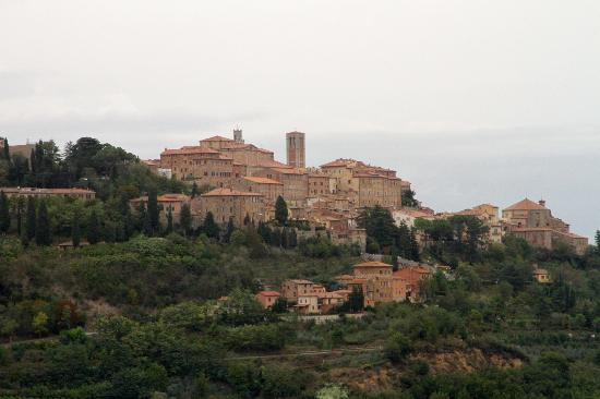 View from Follonico