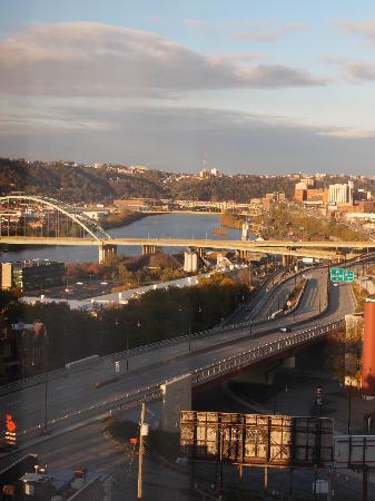 Hampton Inn Pittsburgh University/Medical Center: View (8F, #1)