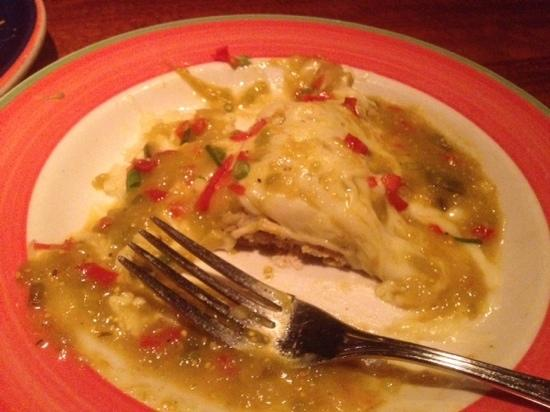 Red Rock Canyon Grill: rotisserie chicken enchilada - very good