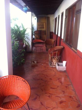 Embajadoras Hotel: pasillo cuart 16