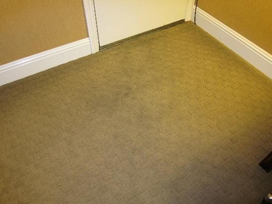 The Dylan at SFO: Carpet was very dirty inside room door
