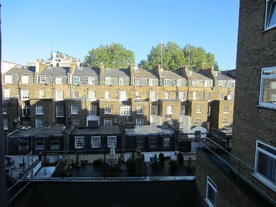 Lancaster Gate Hotel: view from room