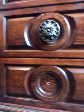 The Fitzgerald Hotel: Missing handle / Chest of drawers