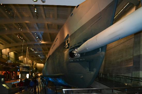 ‪ترافيلودج هوتل داون تاون: U505 German Submarine Natural Science and Air Museum‬