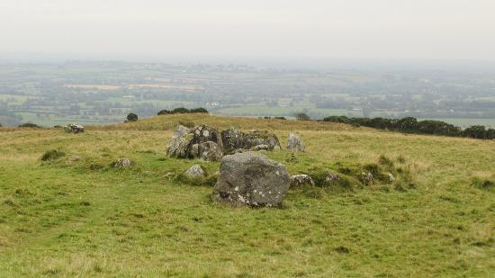 Loughcrew Megalithic Cairns: View and partial