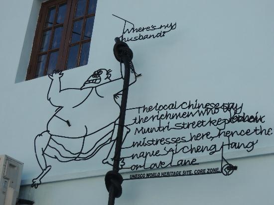 Bayview Hotel Georgetown Penang: Penang Art Street