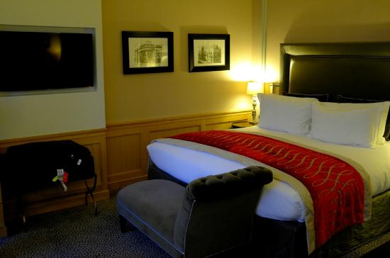 Sofitel Paris Baltimore Tour-Eiffel: King Size Bed Junior Suite