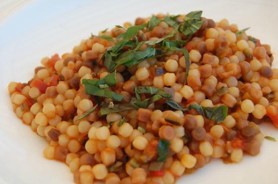 Restaurant Terrazza Danieli: Fabulous Fregola!