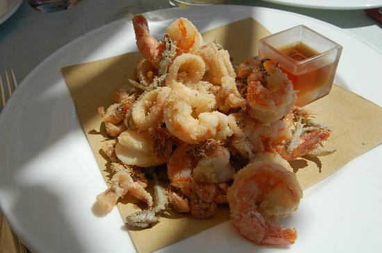 Restaurant Terrazza Danieli: Frutti di Mare from the Venetian Lagoon