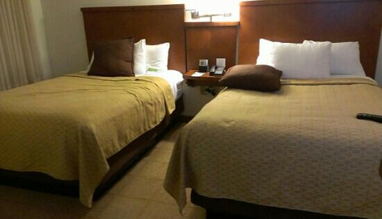 Hyatt Place Cranberry: double room