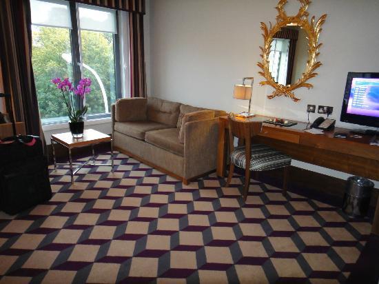 Living Area Picture Of Fitzwilliam Hotel Dublin Dublin Tripadvisor
